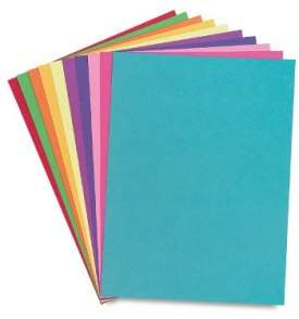 Construction paper Supplies