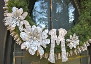 Monogram Wreath close up 300x211 Monogram Wreath