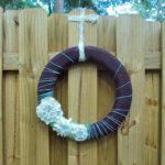 Yarn Wreath 1024x10241 150x150 Craft Project: DIY Chalkboard