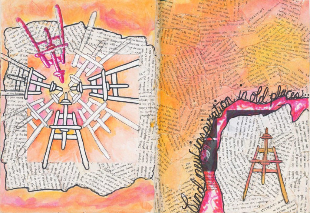 Visual Journal Page 6 Find New Inspiration in Old Places 1024x704 Visual Journal Page 6: New Inspiration from Old Places