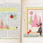 Visual Journal Page 21: Holiday Get Togethers