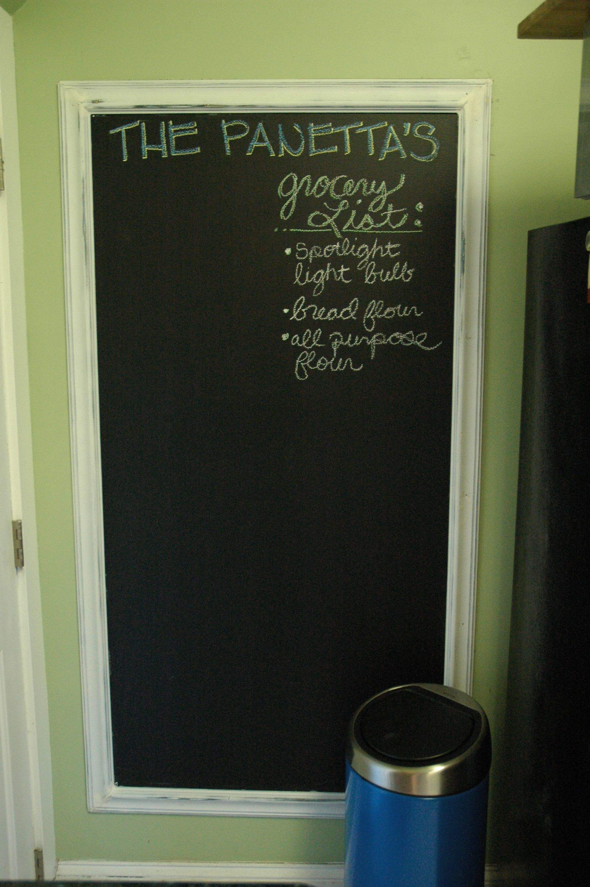 Craft Project Diy Chalkboard