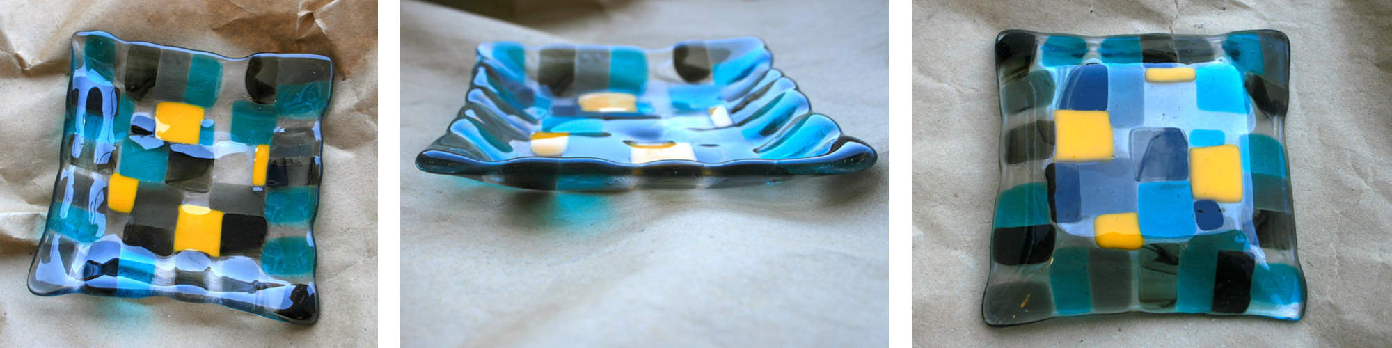 Fused Glass- Small Bowl Shots