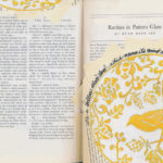 Visual Journal Page 56: Yellow Plate Day
