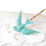 Review and Giveaway: Etsy Shop, Nesting Pretty Nature Inspired Hair Pins (closed)