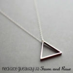 Etsy Shop of the Month: Fawn and Rose Necklace Giveaway (closed)