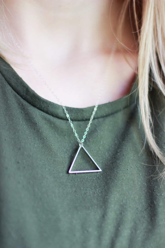 Triangle Necklace Giveaway