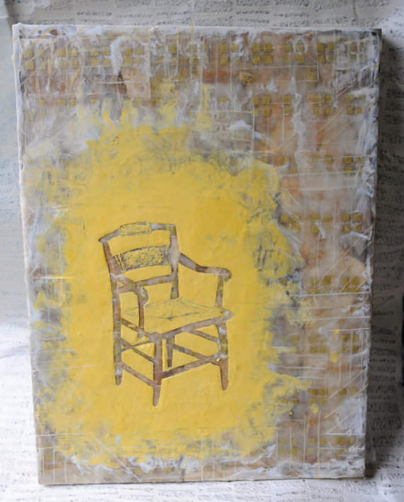 Chair Encaustic