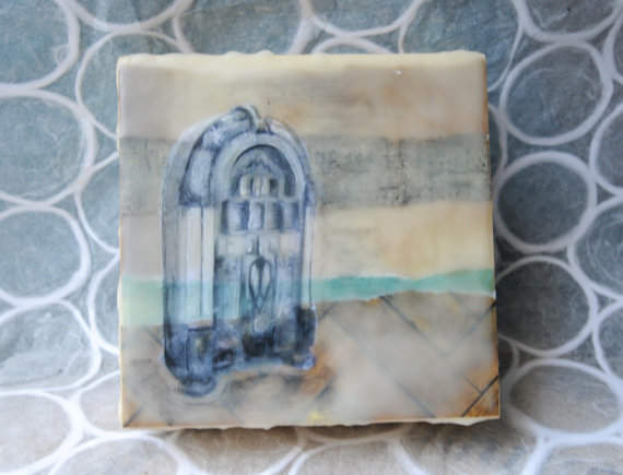 Jukebox Encaustic