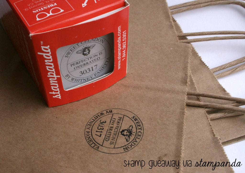 stampanda giveaway 1024x726 Giveaway & Review: Customizable Stamp via Stampanda