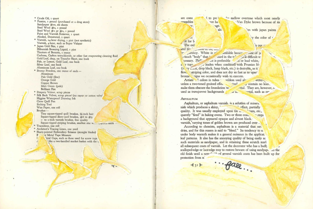 Visual Journal Page 12-Fall