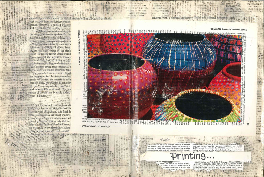 Visual Journal Page 18-Printing