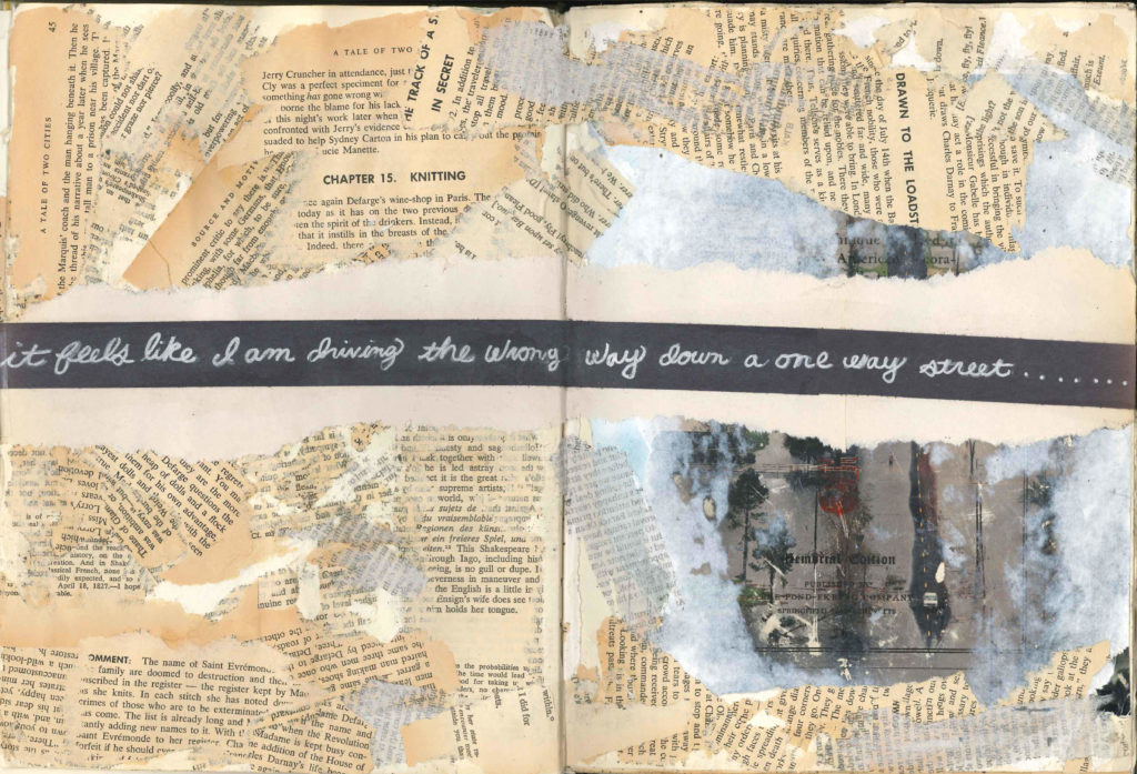 Visual Journal Page 3- The Wrond Way