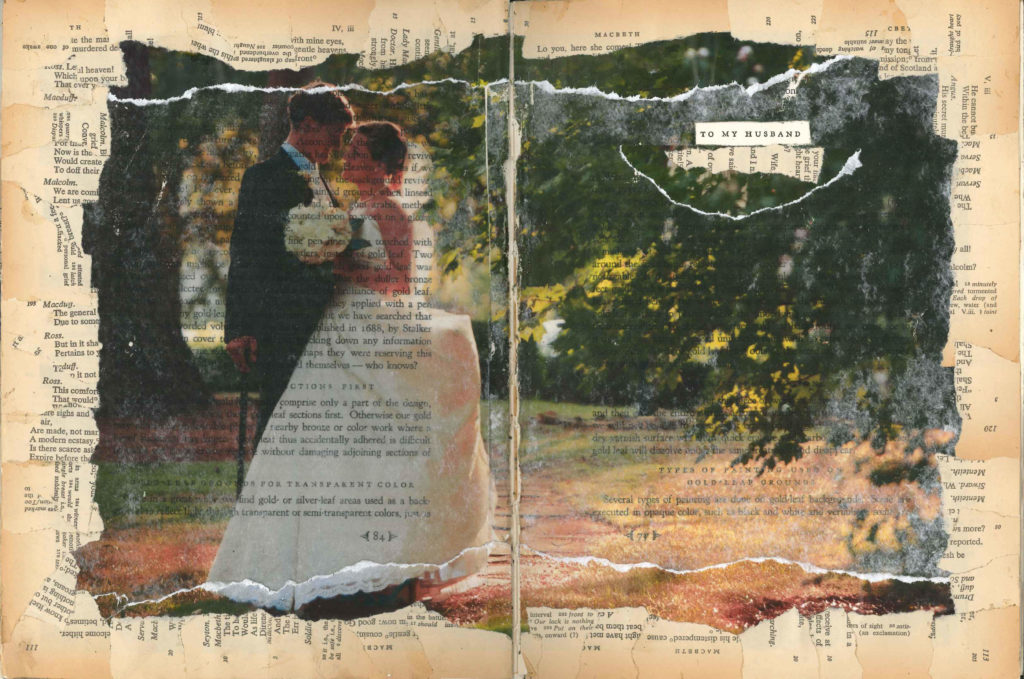 Visual Journal Page 4-To My Husband