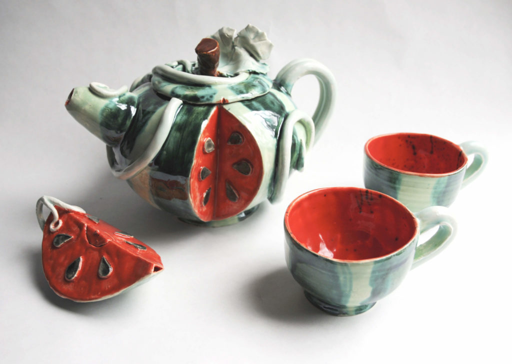 Watermelon Tea Set