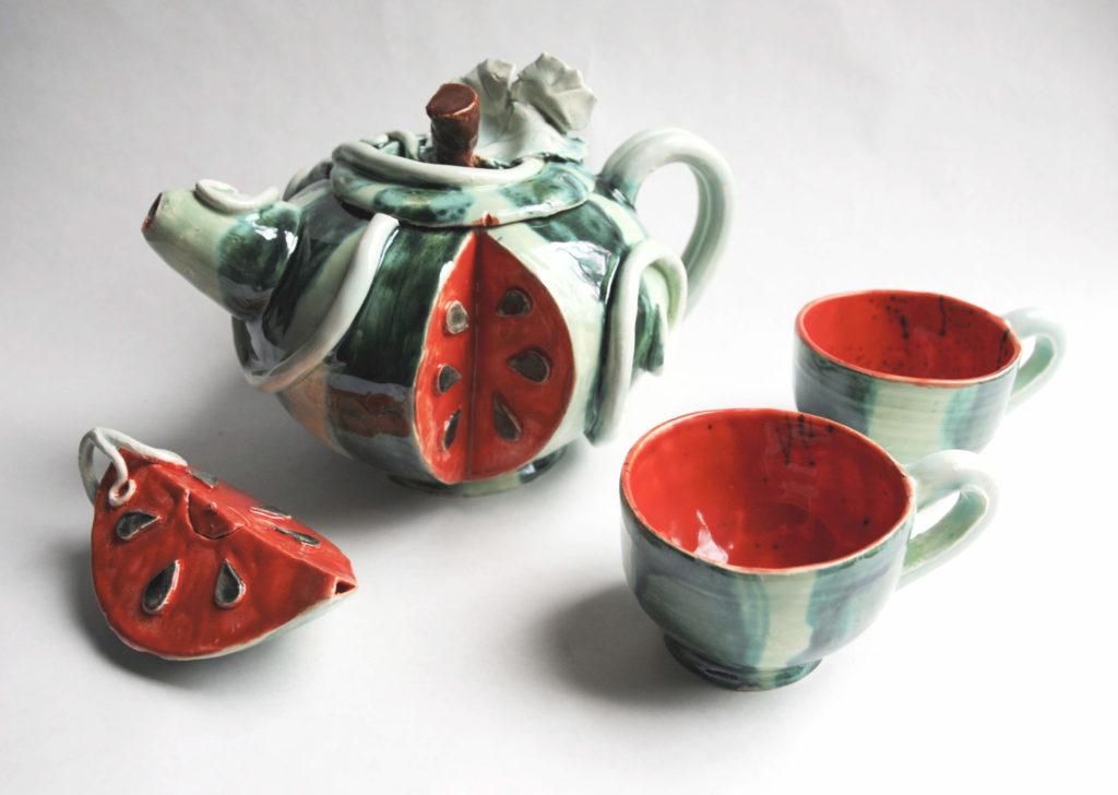 Watermelon Tea Set