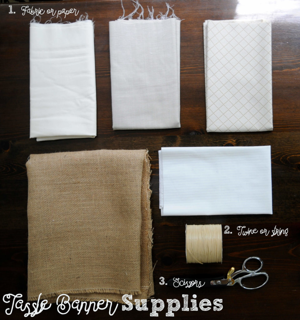 Tassle Banner Supplies