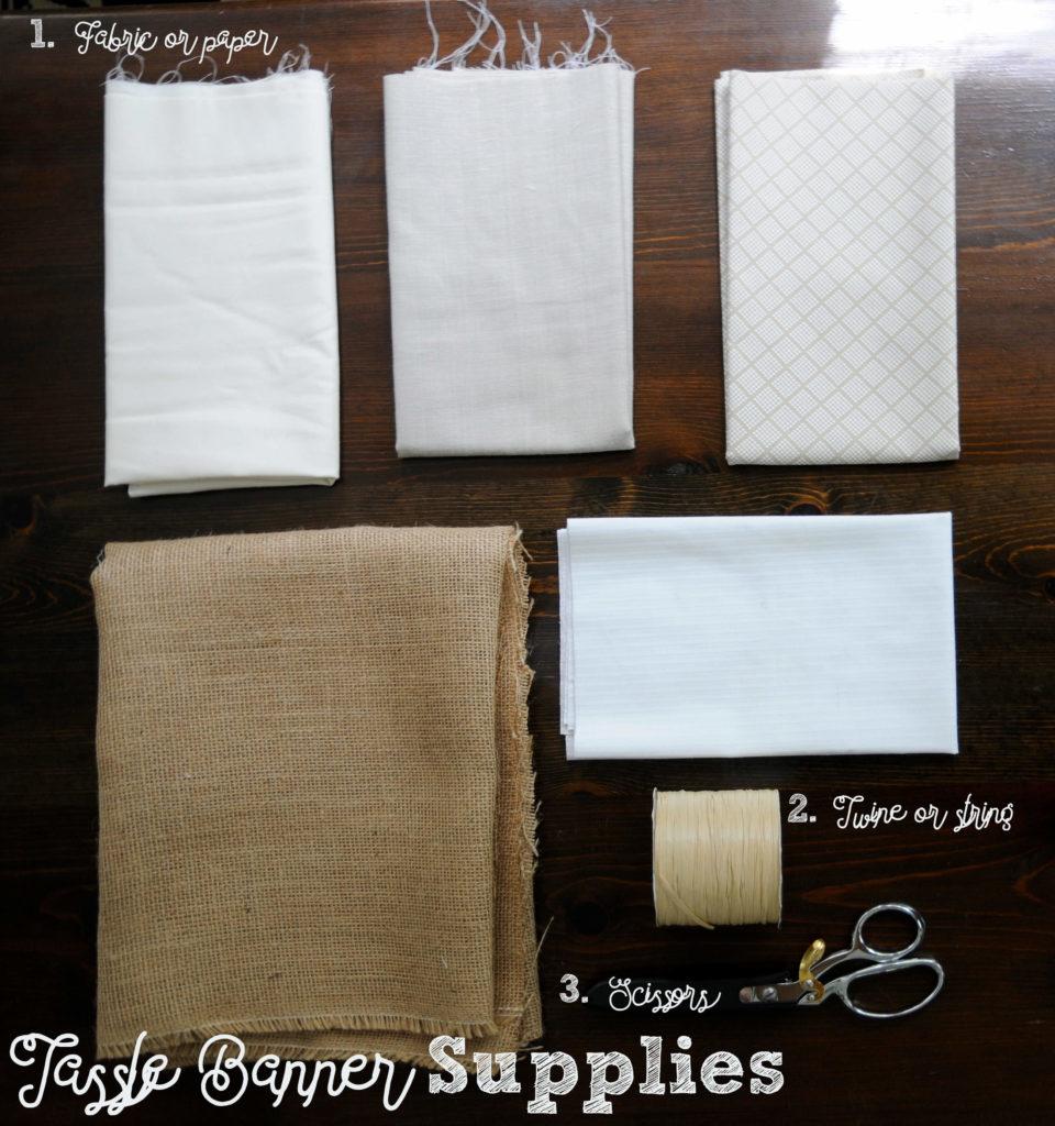 Tassle Banner Supplies
