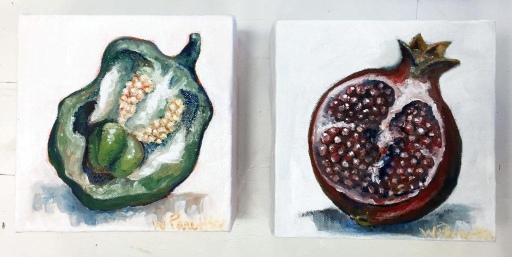 6%22x6%22 Oil Painting Studies