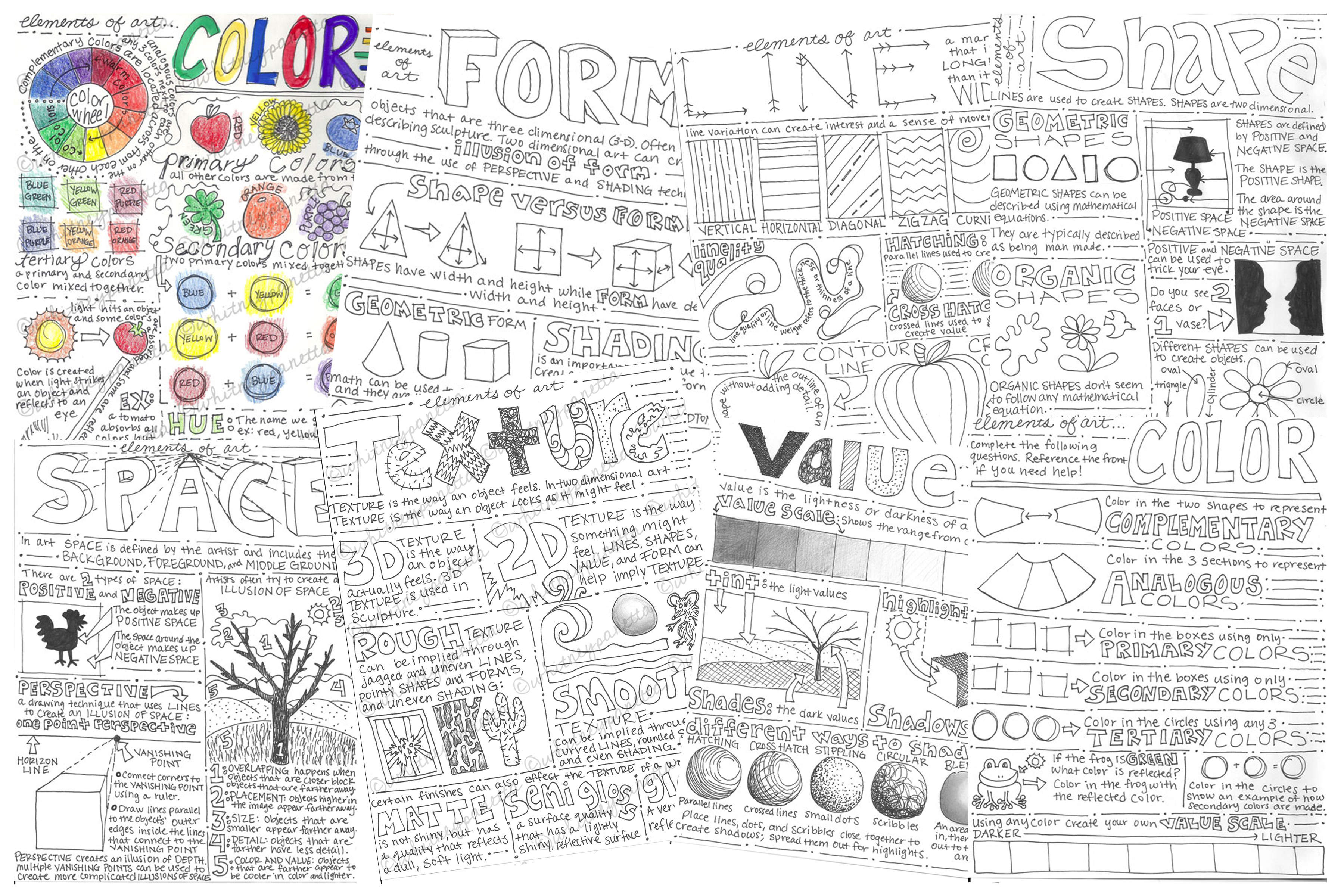 worksheet Art Worksheet look between the lines a visual journal while i enjoy handmade aspect of these products decided it was time to bring them up modern era over christmas break began digitally