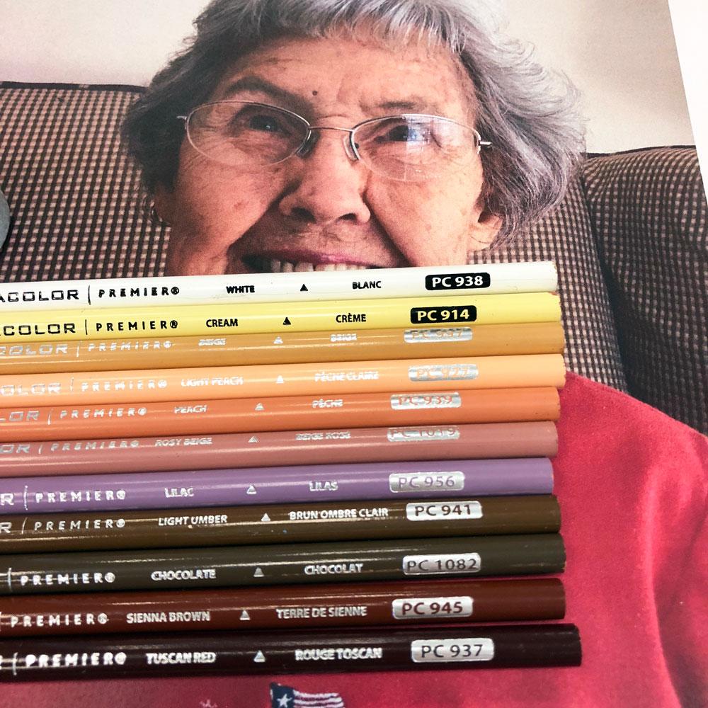 Linoleum Relief Printmaking Basics + Colored Pencils | Look Between ...