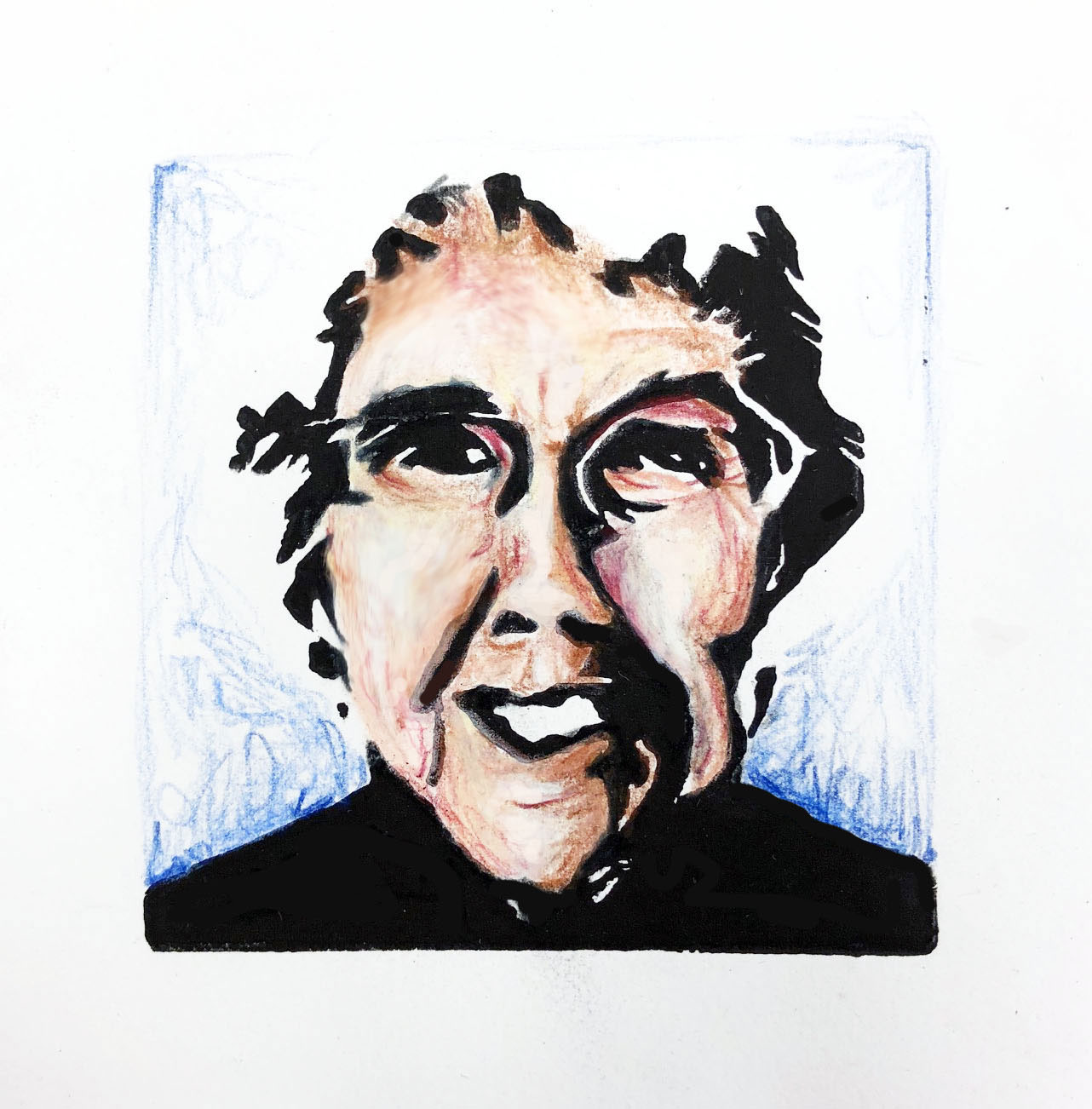 An Introduction To Relief Printmaking That Covers The Basics Of Using Linoleum Make A Portrait