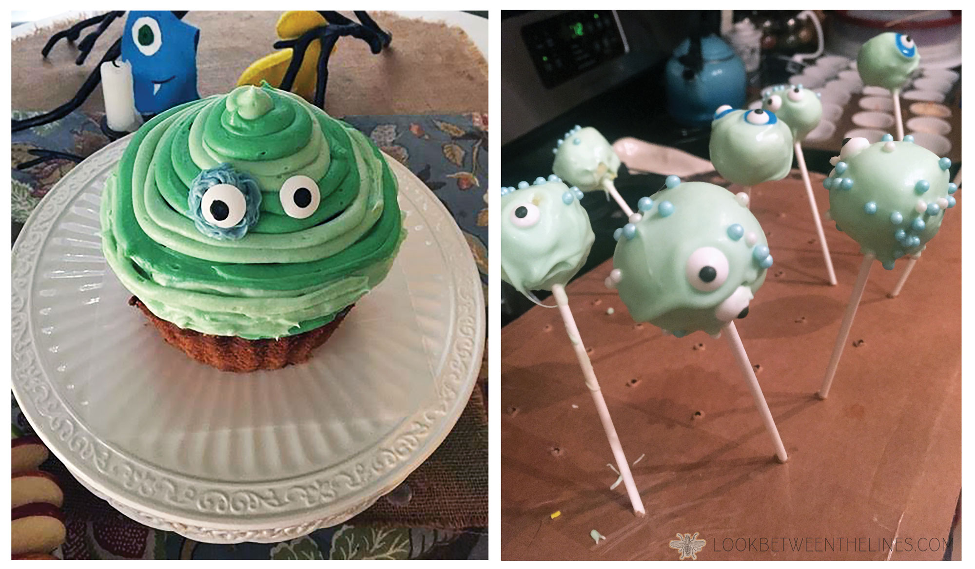 Cooper's monster mash first birthday party.