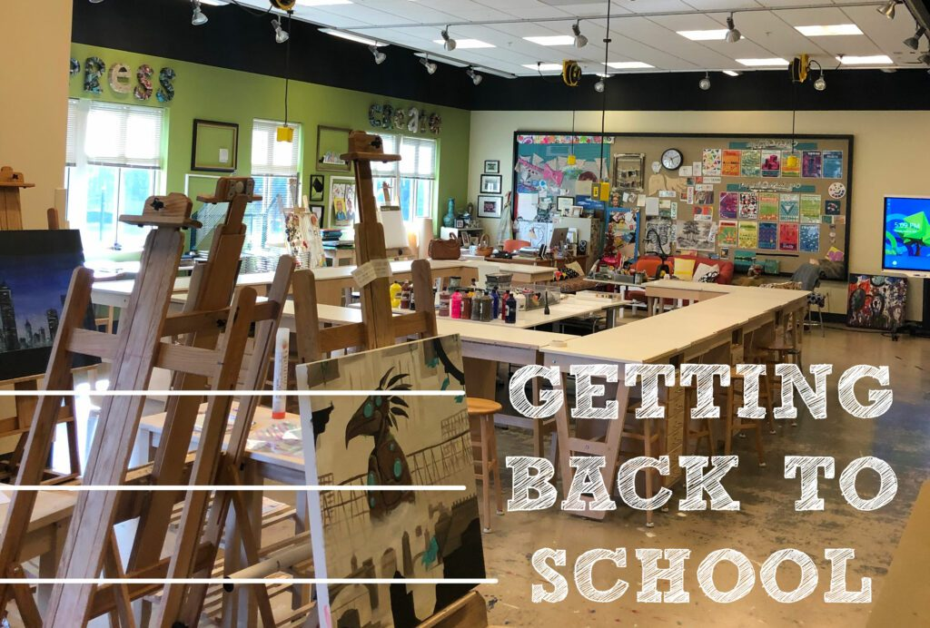 Get your classroom set up for the first day.