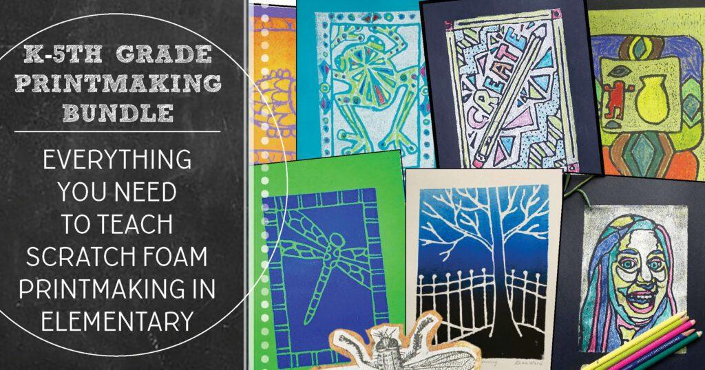 K-5th grade printmaking pack